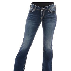 Silver Women's Suki Skinny Jeans, W28/L31